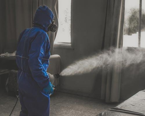 Intrusismo laboral en los trabajos de desinfección contra el coronavirus