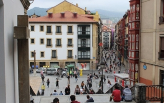 Lucha contra una plaga de termitas en Bilbao