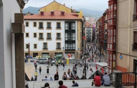 Una plaga de termitas amenaza el Casco Viejo de Bilbao